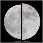 Supermoon vs Minimoon - porównanie wielkości