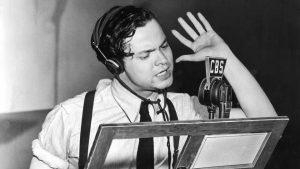 Welles z mikrofonem CBS